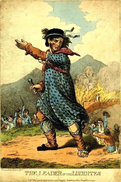 Ned Ludd, Disgruntled by Disruption
